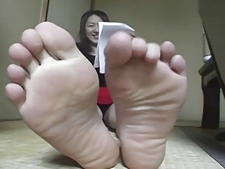 Asian akin to her hooves