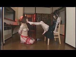 asian lesbian slave marvel at hands
