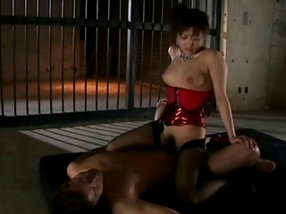 Japanese Femdom - Latex Compilation 1 Video 6.