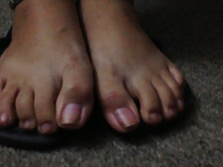 My  girlfriend's yummy feet