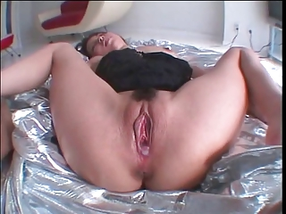 Cute little asian with trimmed nice bush rides cock and gets creampie load