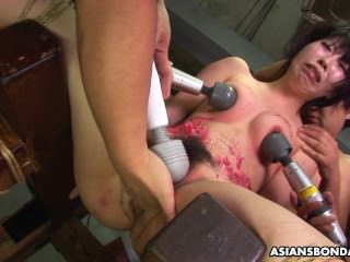 Asian spitfire loves wide be bdsm treated wide a elongate act