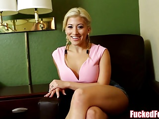 Sexy Asian Teen Cristi Ann Gives Footjob for FuckedFeet!