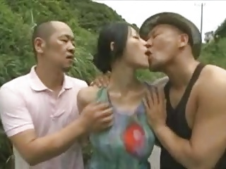 weird homoerotic japanese threesome