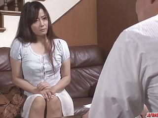 Japanese porn with an superannuated guy for Mizuki Ogawa