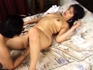 Japanese AV Model loves having her pussy fucked hard