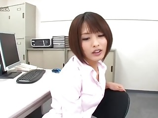 Japanese Office Comprehensive Auric Satin Panties