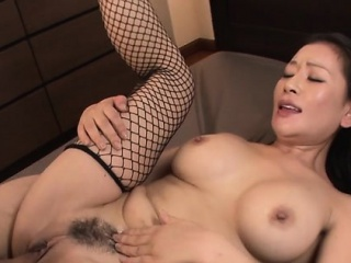 Wet cookie asian milf takes on high team a few guys with dildos