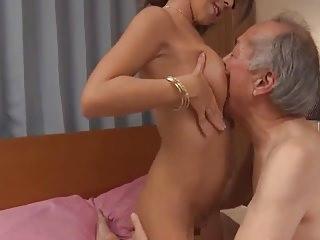 GVG-440 Profligate OldMan & Cum Busty GalSEX7 Marina Natsuki