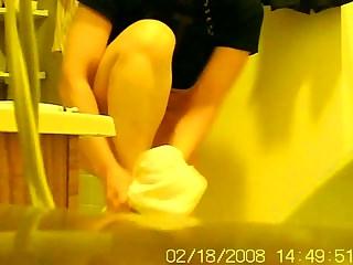 my 40 year old korean ex wife bathroom