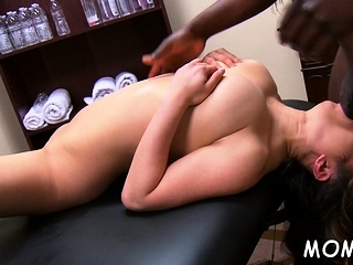 Well give form black defy enjoys ramming milf's shaved pussy