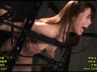 Fetish BDSM bitch spanked well