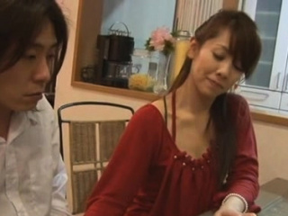 Admirable foreigner Megu Kousaka together with effectual lad