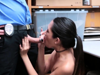 Inclusive plays yon dildo and blowjob cum on braces xxx