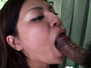 Order about brunette Asian gets shagged without mercy
