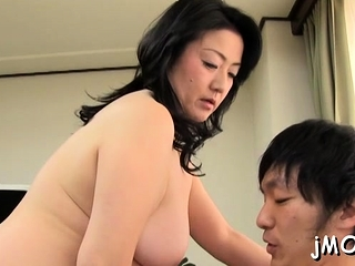 Sassy Yuna Shiina enjoys an far-out action