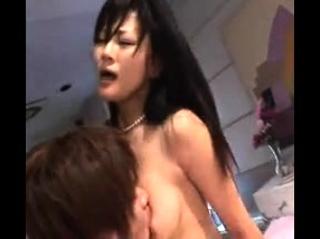 Hot japanese girl in nasty asian gangbang