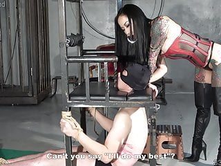 Japanese Dominatrix Youko Punishment Goading