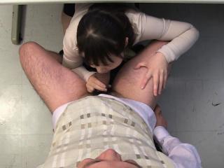 Asian Sayaka Aishiro sucking the academician uncensored