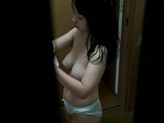 Beauty Asian After Girl Shower - Hidden Cam Clip