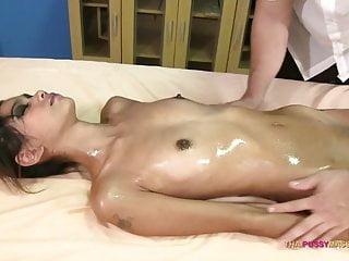 Skinny 18 excellence Asian mating nuru massage