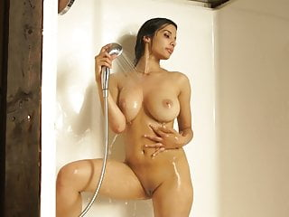Shanaya Nude connected with Shower