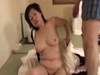 Passionate Japanese hardcore fuck near slut