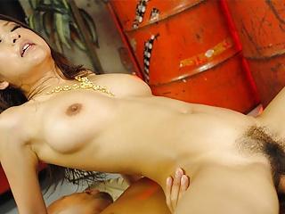 Japanese model, Satomi Suzuki fucks her manager truly often,