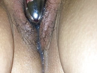 Asian wife cums after creampie
