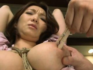 Elegant busty Mio Takahashi expreses her nastiness