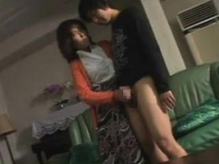 Hot Japanese Mom Caught Not Stepson Masturbates