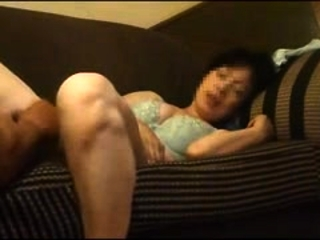 Japanese Retribution Mom Masturbate In Livingroom