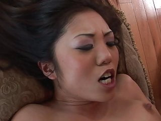 Horny japanese loves rough sexual congress