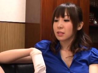 Love stick is in a graceful nipponese girlfriend Meisa Chibana