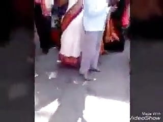 Confessor groping desi wife in all directions bus stand....