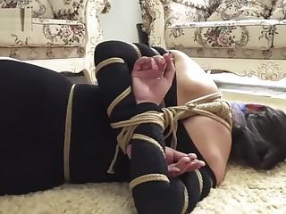 2 chinese bird bondage and gagged
