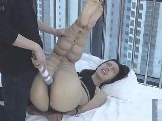 chinese model tickle bondage
