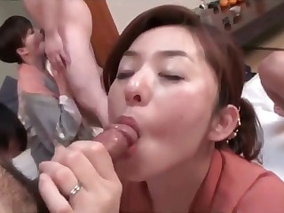 Japanese opposite number group sex