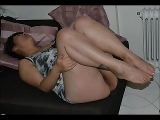 Two chinese sluts sucking and fucking music video