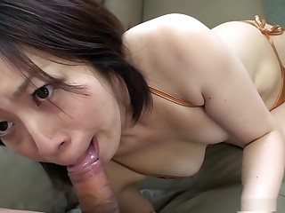Creampie interview with ugly Juri Sawada
