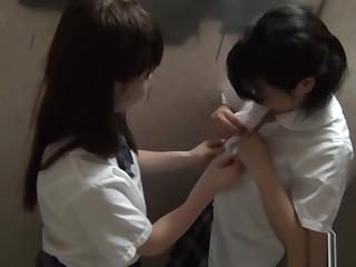 Japanese teenager fingers