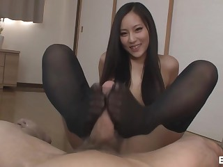 Sexy Stocking Foot Job - Erito