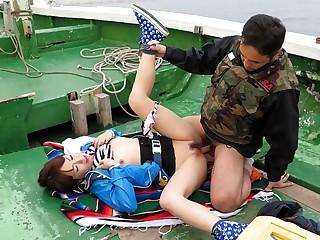 Nonoka Kaede in Nonoka Kaede is fucked on a boat explore fishing contest - JapanHDV