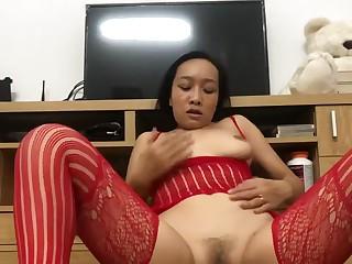 Asian Band Masturbating Wet Pussy