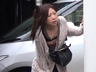 Japanese peeing babes obtain spied on