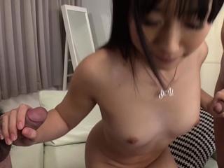 JAVHub Big butt Tomomi Honzawa has a threesome