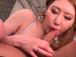 Japanese girl, Sayuki Hojo had hardcore sex, uncensored