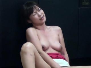 Asian babe in kitchen