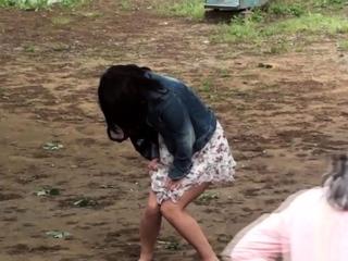 Japanese girlhood peeing