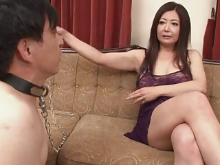 Japanese Mature Ayano Murasaki with an increment of Slave (Uncensored)